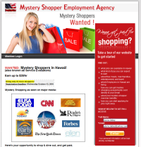 Mystery Shopper Agency