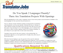 Real Translator Jobs