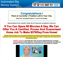 Automated Big Money System
