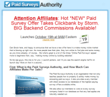 Paid Surveys Authority