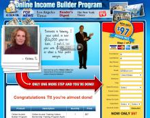 Online Income Builder Program