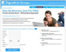 SignatureSurveys.com